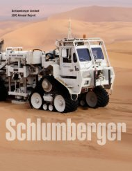 Schlumberger Limited 2005 Annual Report