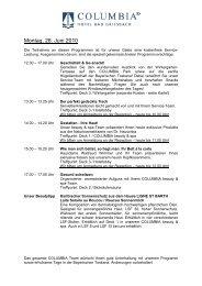 Ihr Urlaubs- und Sportprogramm ab 28.06.10 bis ... - Hotel Lerner