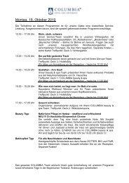 Ihr Urlaubs- und Sportprogramm ab 18.10.10 bis ... - Hotel Lerner
