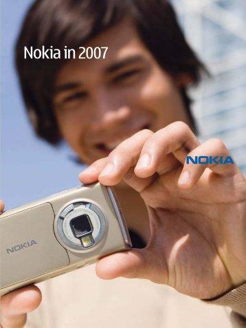 Nokia in 2007