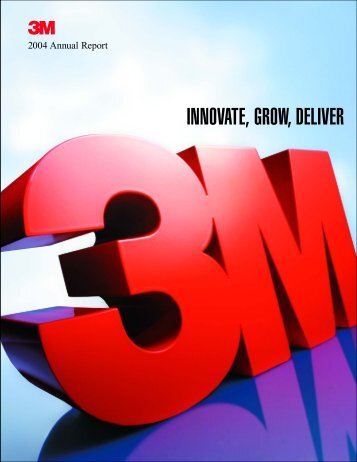 3M 2004 Annual Report