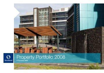 Property Portfolio 2008
