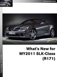 2011 SLK-Class Technical Data - Daimler Media Site