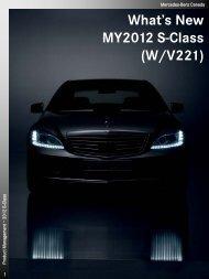 2012 S-Class Technical Data - Daimler