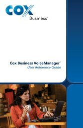 User Guide - Cox Communications