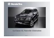 Information gamme Classe GL nouvelle génération - Daimler Global ...