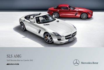 12 - SLS AMG_Tarifs - Daimler Media Site