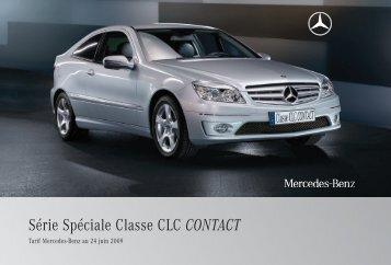 CLC CONTACT_Tarif - Daimler Media Site