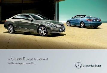 07 - E_Coupe et Cabriolet_Tarifs - Daimler