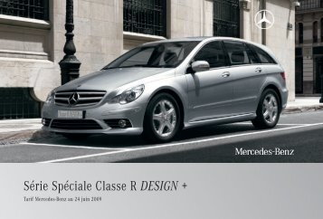 R DESIGN +:Tarif - Daimler