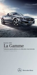 La Gamme Janvier 2011 - Daimler