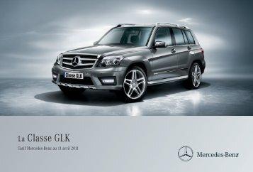 13 - GLK_Tarifs 2011 - Daimler