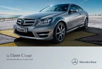 05 - C Coupe_Tarifs - Daimler