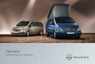 Viano Loisirs Tarifs - Daimler