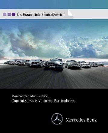 Gamme Contrats Service - Daimler