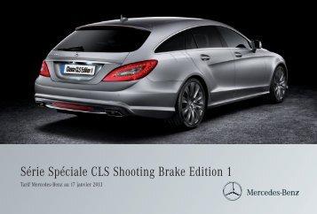 CLS Shooting Brake Edition 1 - Mercedes-Benz France