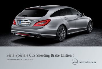 CLS Shooting Brake Edition 1 - Mercedes-Benz France