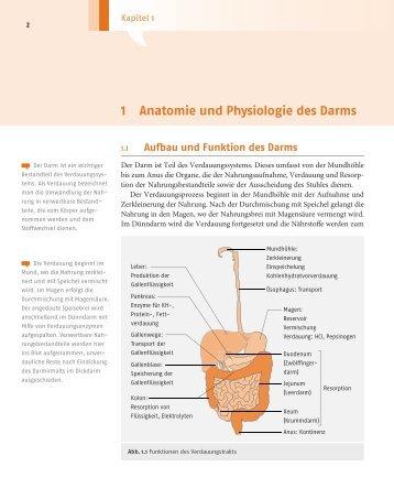 1 Anatomie und Physiologie des Darms - Deutscher Apotheker Verlag