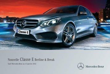 07 - E_Berline et Break_Tarifs - Daimler