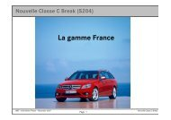 Classe C Break_ La gamme France - Daimler