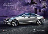 Preisliste CLS - Daimler