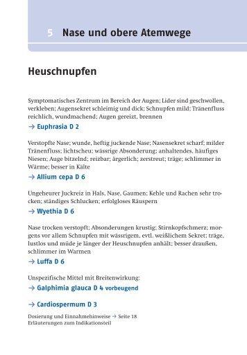 5 Nase und obere Atemwege Heuschnupfen - Deutscher Apotheker ...