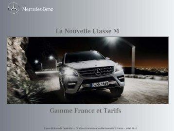La Nouvelle Classe M - Daimler