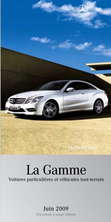 La Gamme - Daimler