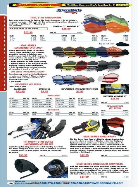 trail star handguards - Free Catalog Request