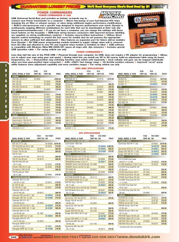 2012 Off Road Catalog: Intake/Fuel - Free Catalog Request