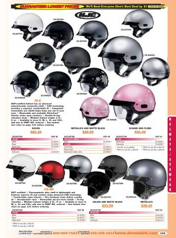 2013 Harley-Davidson Catalog: Helmets - Free Catalog Request