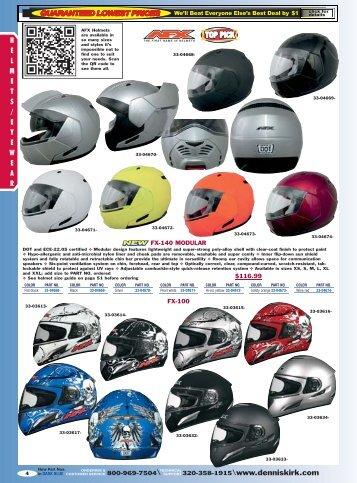 2012 Metric Bike Catalog: Helmets & Eyewear - Free Catalog Request