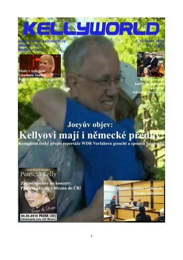 Joey Kelly na turné Hysterie des Körpers Tour - Kellyworld.cz