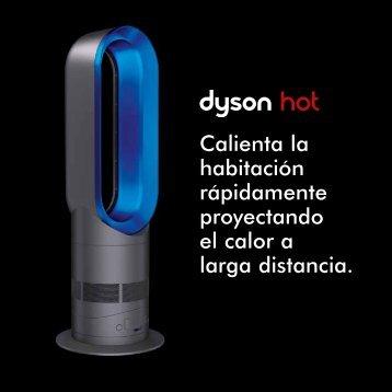 Calienta la habitación rápidamente proyectando el calor a ... - Dyson