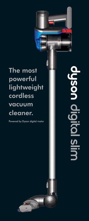 Powered By Dyson Digital Motor