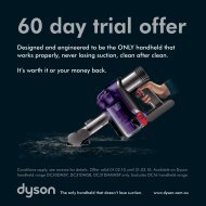 60 day trial offer - Dyson