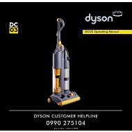 DC03 user guide - Dyson