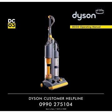 DC03 user guide - Dyson