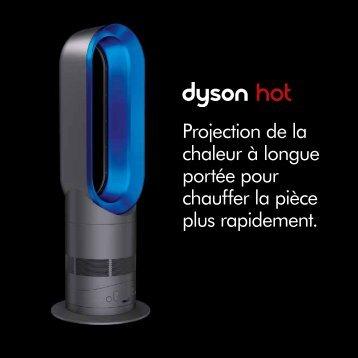 Projection de la chaleur à longue portée pour chauffer la ... - Dyson