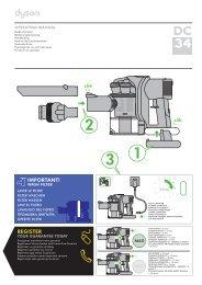 DC34 Manuel d'instructions - Dyson