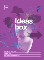 James Dyson Foundation Teacher's Pack www ...