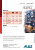 VANTAGE® 70-761 - Ansell Healthcare Europe - Page 4