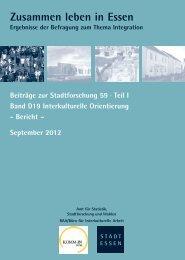 Bericht - Essen
