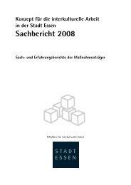 Sachbericht 2008 - Essen
