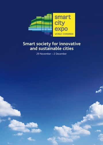 Smart society for innovative and sustainable cities - Fira Barcelona