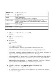 25. februar 2013 referat - Dagplejen