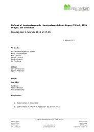 Referat af OB møde den 2012-02-02