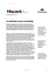 Hispack 2012 - Fira Barcelona