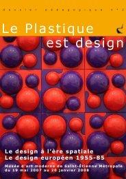 Le Plastique est design