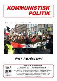 Kommunistisk Politik 3, 2009
